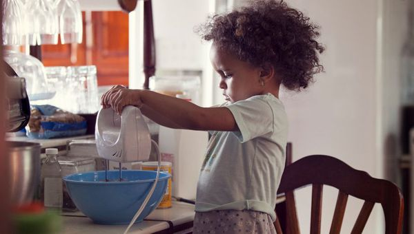Kids who learn how to cook tend to have better eating habits in the long run.