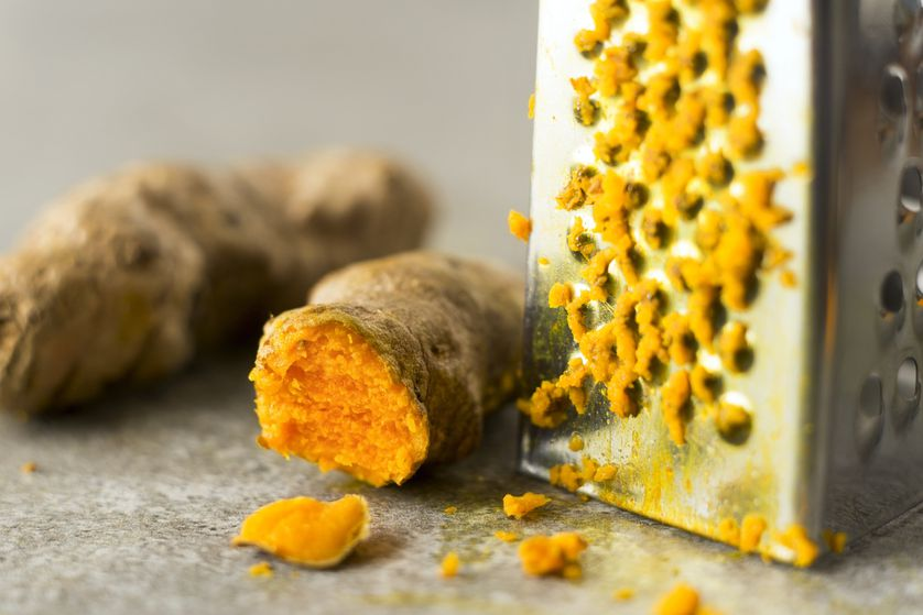 Turmeric is a root that is ground into powder form and used as a spice in many dishes, such as curry, or infused into tea.