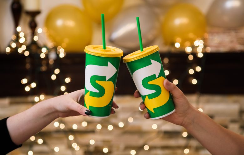 Subway cups