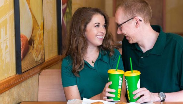 Mary and Matt met at Subway and are getting married in 2018