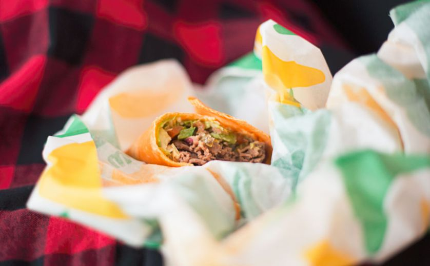 Subway wrap and wrapper