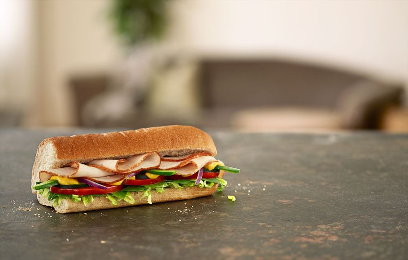 Top your Subway salad with Turkey Breast or any other cold cuts you like.