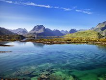 Norway in the summer