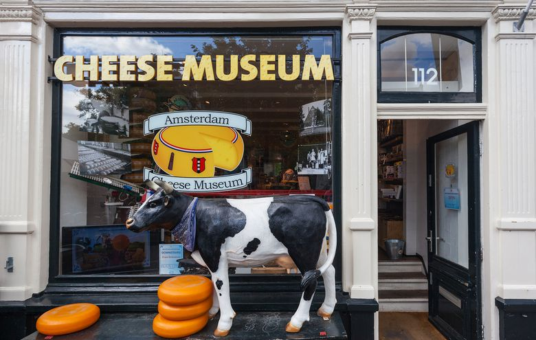 Cheese Museum in Amsterdam