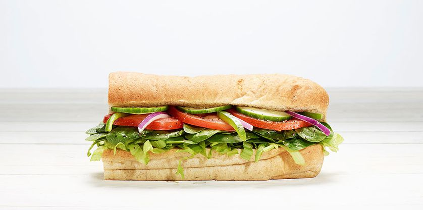 The 6-inch Veggie Delite is our lowest-calorie sub and lowest-sodium sub.