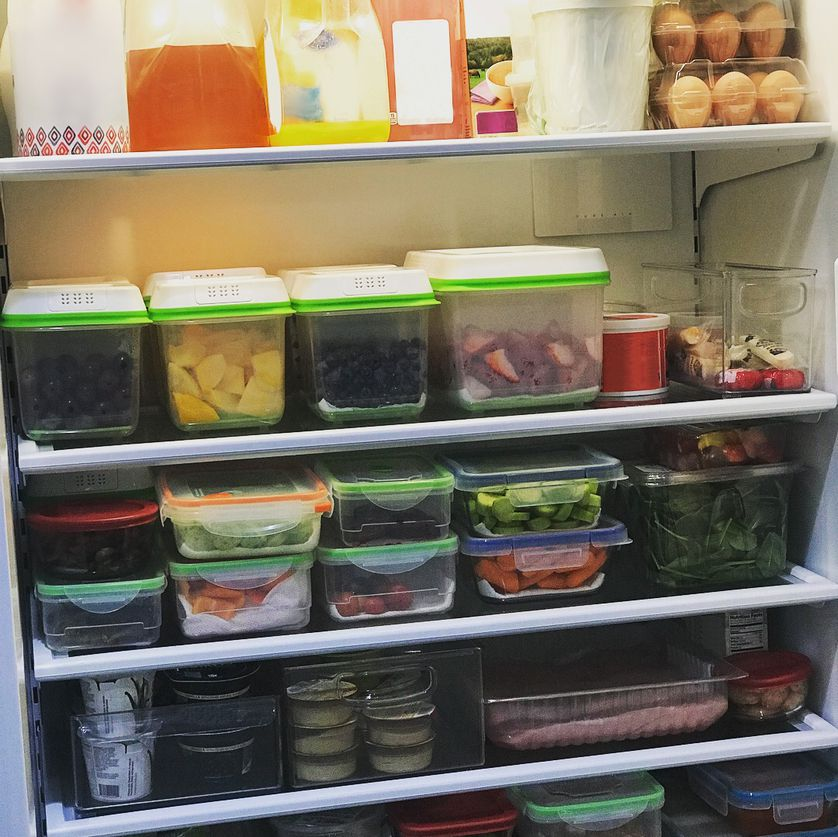 The more you see prepared, easy-to-grab food inside your fridge, the more likely you are to gravitate toward more nutritious options.