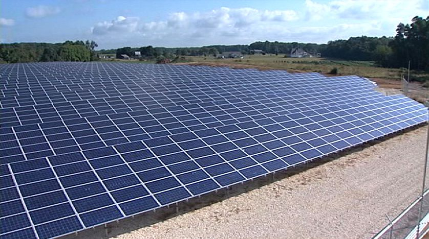 Procacci Brothers' solar panels in Cedarville, New Jersey