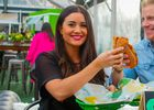 Sean and Catherine Lowe eat Ultimate Cheesy Garlic Bread sandwiches on Valentine's Day