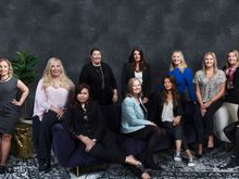 Female Subway Business Development Agents gathered for a recent photo shoot.