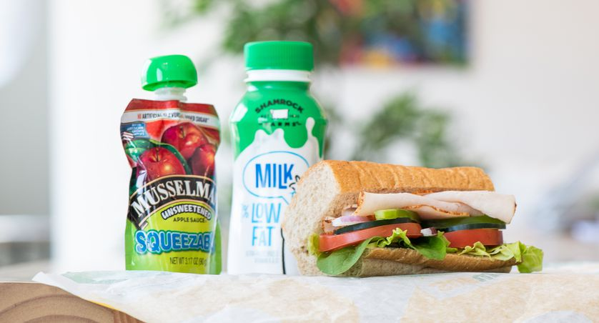Turkey Breast Mini for Kids from the Fresh Fit For Kids® menu