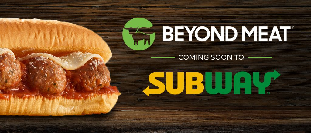 Subway® and Beyond Meat® Team Up to Create a Plant-Based Sub